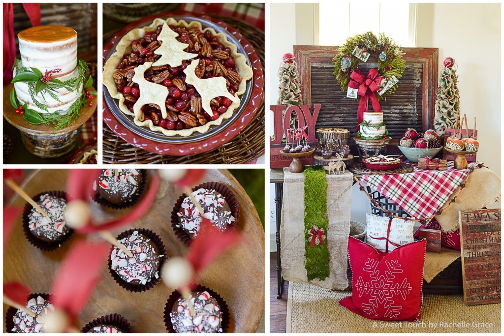 Joyful Rustic Holiday Collage