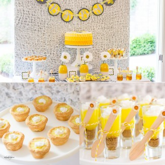 Mom-To-Bee Baby Shower