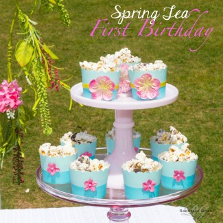 Spring Tea First Birthday