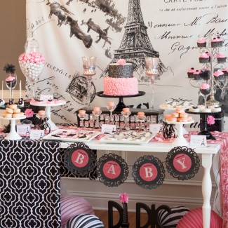 Parisian Baby Shower