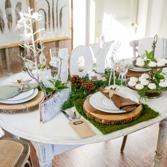 Birds Of A Feather Holiday Table
