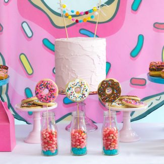 Grab a Donut Pool Party