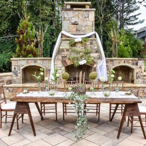 Rustic Green Baby Shower