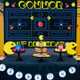 Pac Man Arcade Game Birthday Party