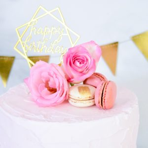 Pink + Gold Girls Night In | The Celebration Cart